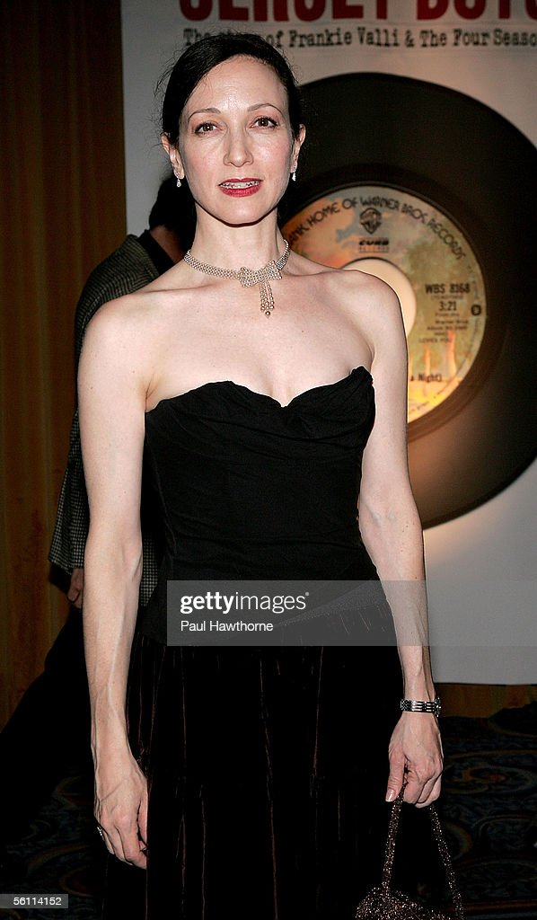 Actress Bebe Neuwirth attends the play opening night of 'Jersey Boys' after party at the Marriott Marquis November 6, 2005 in New York City.