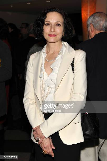 Actress Bebe Neuwirth attends the Seventh annual Fred Ebb award at the American Airlines Theatre on November 28 2011 in New York City