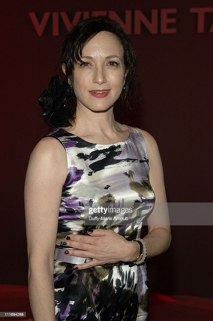 Actress Bebe Neuwirth attends Vivienne Tam Fall 2008 during Mercedes-Benz Fashion Week at The Promenade, Bryant Park on February 5, 2008 in New York City.