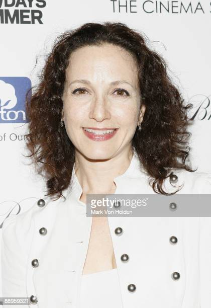 Actress Bebe Neuwrith attends a screening of '500 Days Of Summer' hosted by The Cinema Society with Brooks Brothers and Cotton at the Tribeca Grand...