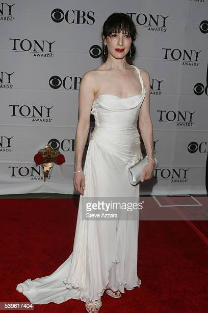 Actress Bebe Nuewirth arrives for the 61st Annual Tony Awards at Radio City Music Hall in New York New York