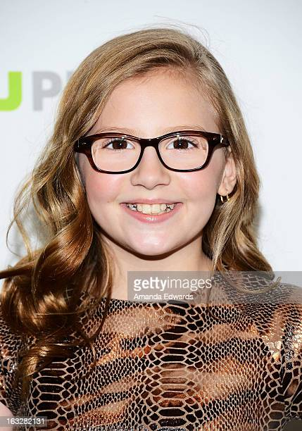 Actress Bebe Wood arrives at the 30th Annual PaleyFest The William S Paley Television Festival featuring The New Normal at the Saban Theatre on March...