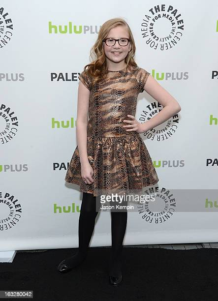 Actress Bebe Wood attends the Paley Center For Media's PaleyFest 2013 Honoring The New Normal at Saban Theatre on March 6 2013 in Beverly Hills...