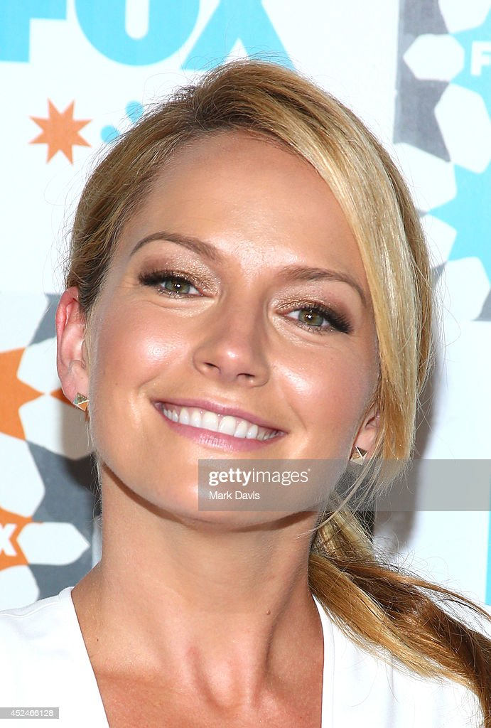 Actress Becki Newton attends the Fox Summer TCA All-Star party held at the SOHO house on July 20, 2014 in West Hollywood, California.