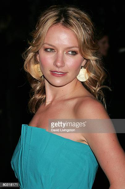 Actress Becki Newton attends the Prada Los Angeles screening of 'Trembled Blossoms' at Prada Beverly Hills Epicenter on March 19 2008 in Beverly...