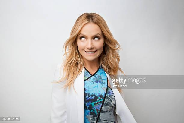 Actress Becki Newton is photographed for TV Guide Magazine on January 17 2015 in Pasadena California