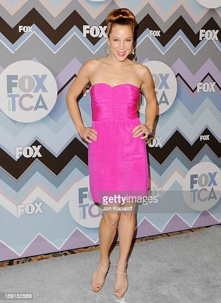 Actress Becky Baeling arrives at the 2013 Winter TCA FOX AllStar Party at The Langham Huntington Hotel and Spa on January 8 2013 in Pasadena...