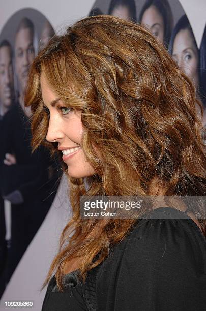 Actress Becky O'Donohue arrives to the premiere of Why Did I Get Married at the Cinerama Dome on October 4 2007 in Hollywood California