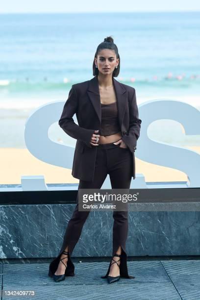 "Actress Begoña Vargas attends ""Las Leyes de La Frontera"" photocall during 69th San Sebastian International Film Festival at Kursaal Palace on..."