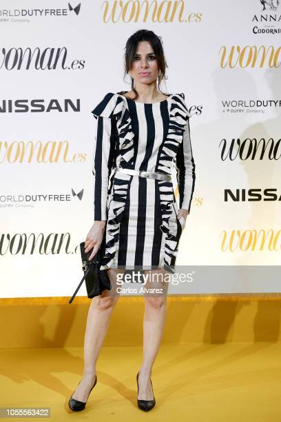 Actress Begona Maestre attends Woman awards 2018 at the Casino de Madrid on October 30 2018 in Madrid Spain