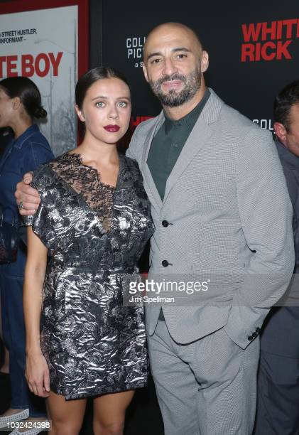 Actress Bel Powley and director Yann Demange attend the New York special screening of White Boy Rick hosted by Columbia Pictures and Studio 8 at the...