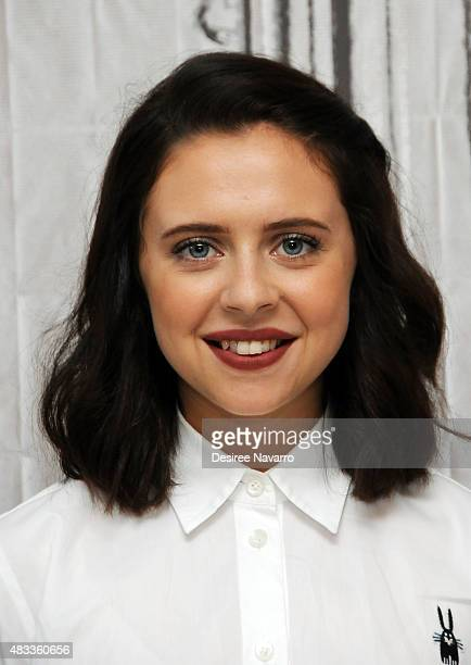 Actress Bel Powley attends AOL BUILD Speaker Series Presents 'The Diary Of A Teenage Girl' at AOL Studios In New York on August 7 2015 in New York...