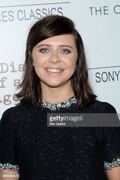 Actress Bel Powley attends Sony Pictures Classics with The Cinema Society host a Screening Of The Diary Of A Teenage Girl at Landmark Sunshine Cinema...