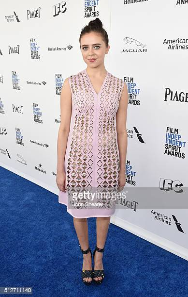 Actress Bel Powley attends the 2016 Film Independent Spirit Awards on February 27 2016 in Santa Monica California
