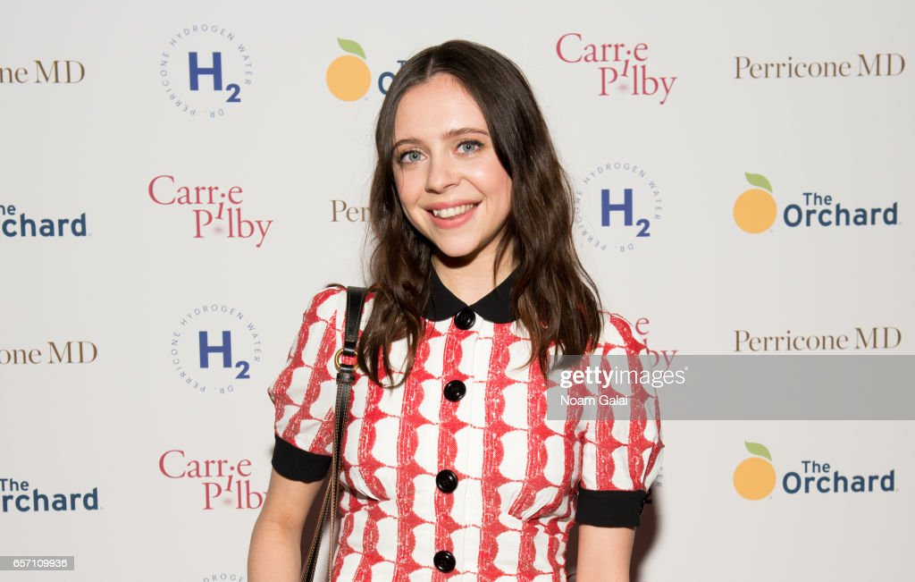 Actress Bel Powley attends the 'Carrie Pilby' New York screening at Landmark Sunshine Cinema on March 23, 2017 in New York City.