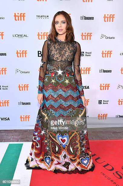 Actress Bel Powley attends the 'Carrie Pilby' premiere during the 2016 Toronto International Film Festival at Ryerson Theatre on September 9 2016 in...