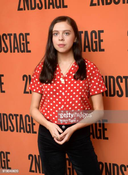 Actress Bel Powley attends the 'Lobby Hero' cast meet and greet at Sardi's on February 16 2018 in New York City