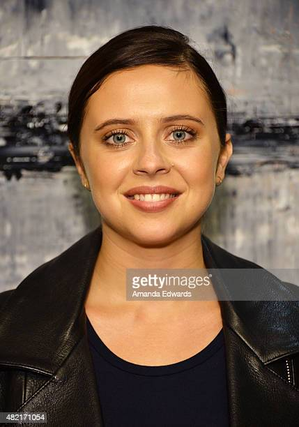 Actress Bel Powley attends the Los Angeles Times Indie Focus Screening of The Diary Of A Teenage Girl at the Sundance Sunset Cinema on July 27 2015...