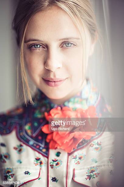 Actress Bel Powley is photographed for Self Assignment on May 15 2016 in Cannes France