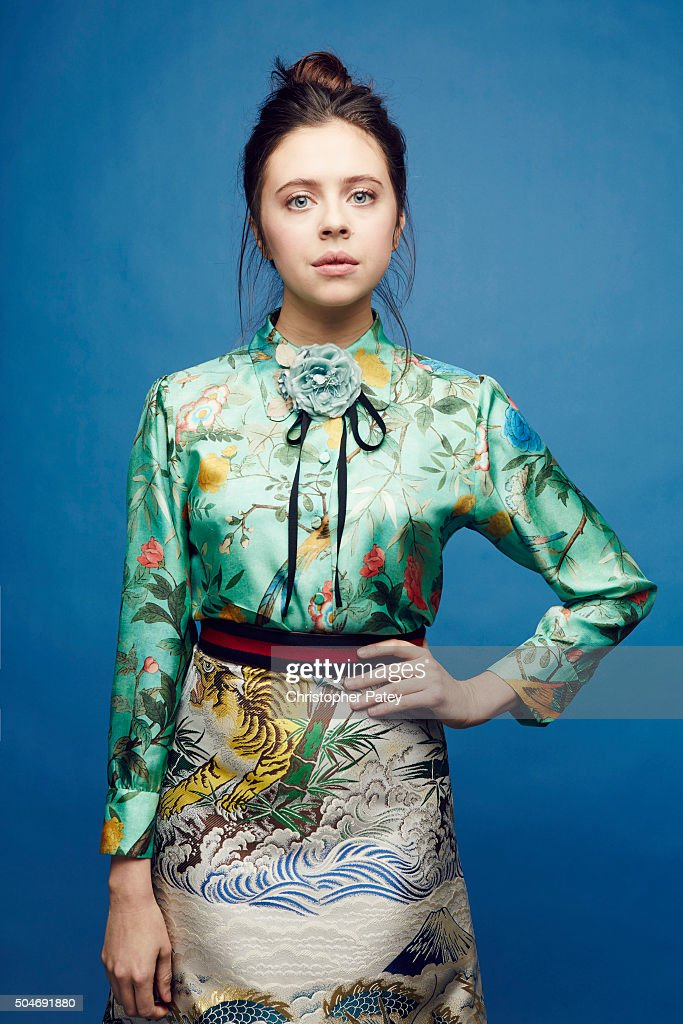 Actress Bel Powley poses for a portrait at the 2016 Film Independent Filmmaker Grant And Spirit Award Nominees Brunch on January 9, 2016 in Los Angeles, California.