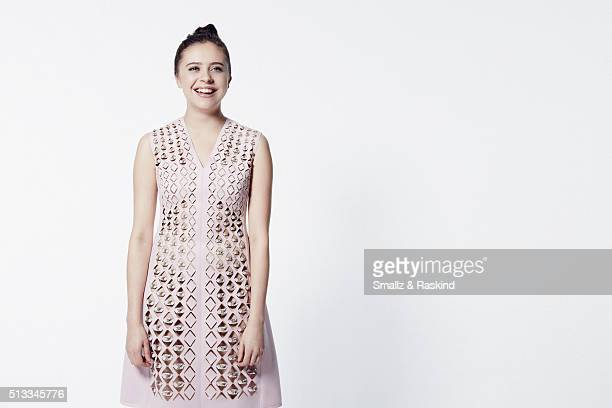 Actress Bel Powley poses for a portrait at the 2016 Film Independent Spirit Awards on February 27, 2016 in Santa Monica, California.