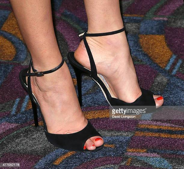 Actress Bel Powley Shoe Detail Attends The Premiere Of The Diary