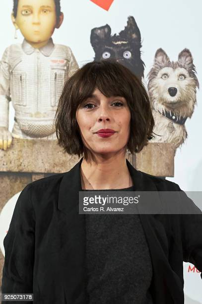 Actress Belen Cuesta attends 'Isla de Perros' premiere at the Dore cinema on February 27 2018 in Madrid Spain