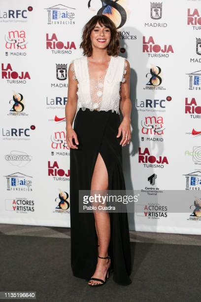 Actress Belen Cuesta attends the 28th Union de Actores awards photocall at Circo Price on March 11 2019 in Madrid Spain