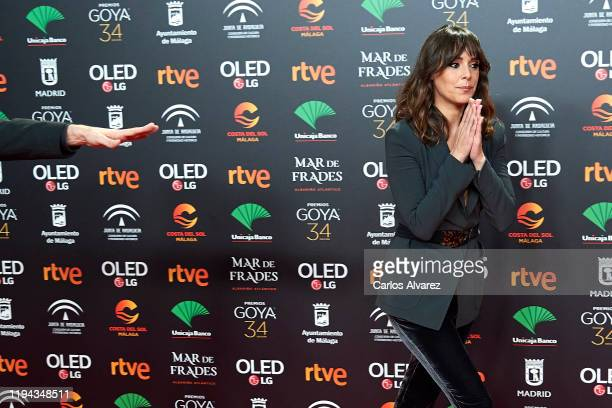 Actress Belen Cuesta attends the candidates to Goya Cinema Awards 2020 dinner party at the Florida Park on December 16 2019 in Madrid Spain