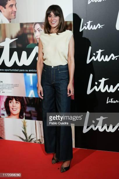 Actress Belen Cuesta attends the 'Litus' Premiere at Verdi Cinema on September 03 2019 in Madrid Spain