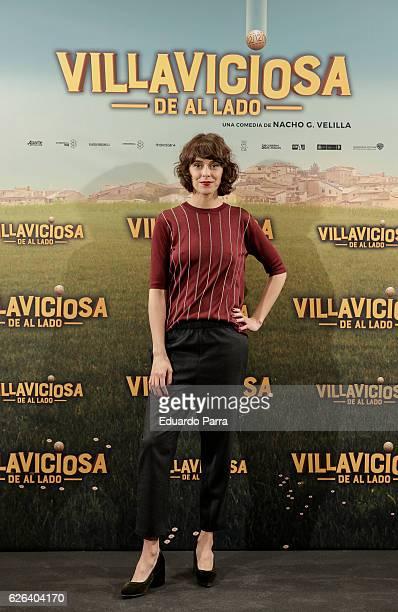 Actress Belen Cuesta attends the 'Villaviciosa de Al Lado' photocall at Palacio de los Duques hotel on November 29 2016 in Madrid Spain