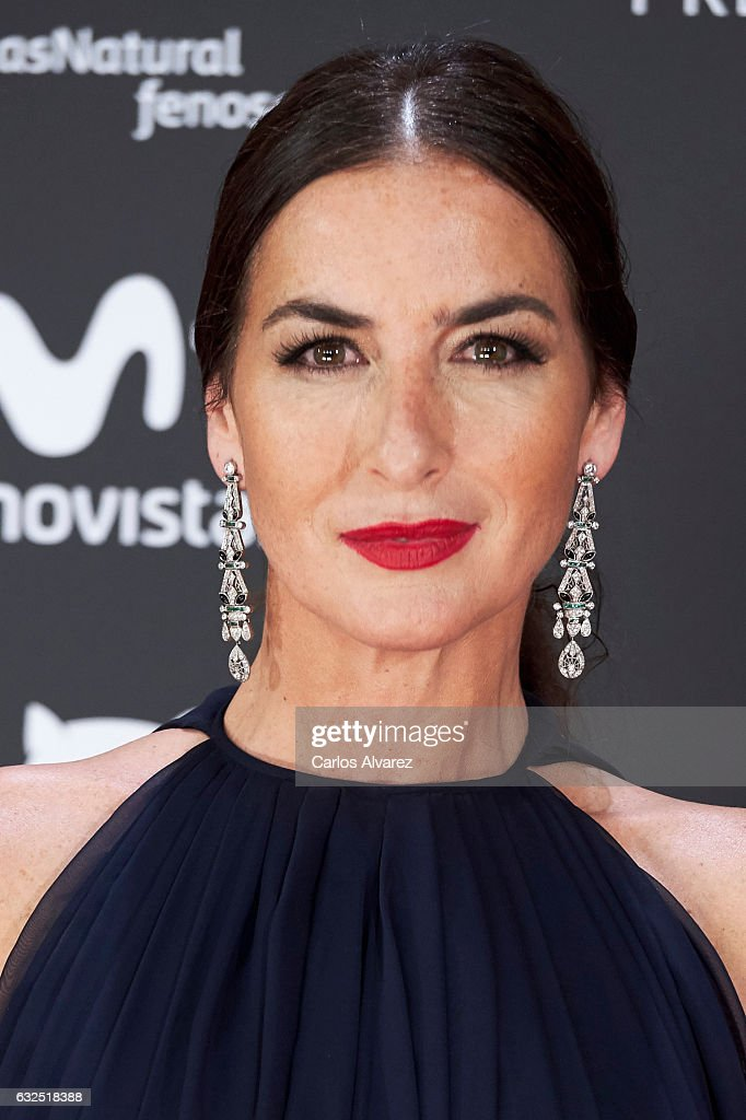 Actress Belen Lopez attends the Feroz cinema awards 2016 at the Duques de Pastrana Palace on January 23, 2017 in Madrid, Spain.