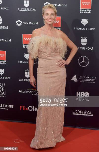 Actress Belen Rueda attends Feroz awards 2020 red carpet at Teatro Auditorio Ciudad de Alcobendas on January 16 2020 in Madrid Spain
