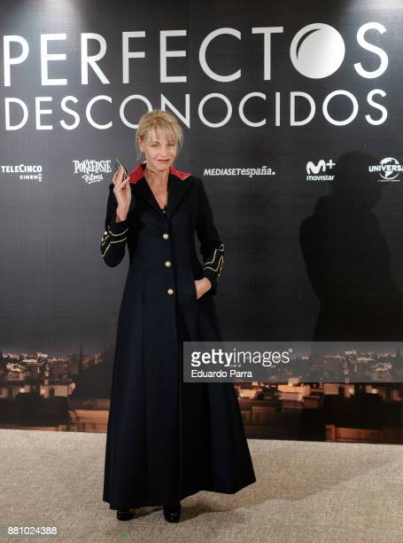 Actress Belen Rueda attends 'Perfectos Desconocidos' photocall at the Hesperia Hotel on November 28 2017 in Madrid Spain