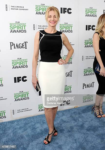 Actress Belen Rueda attends the 2014 Film Independent Spirit Awards at Santa Monica Beach on March 1 2014 in Santa Monica California