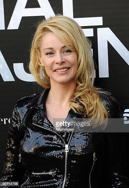 Actress Belen Rueda attends the 'El Mal Ajeno' photocall at Princesa Cinema on March 15 2010 in Madrid Spain