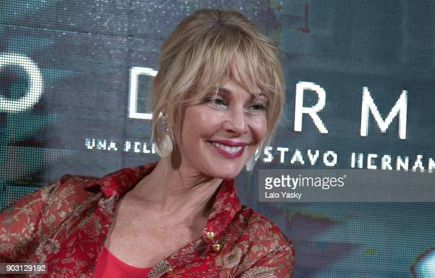Actress Belen Rueda attends the 'No Dormiras' premiere at the Hoyts Dot Baires cinema on January 9 2018 in Buenos Aires Argentina