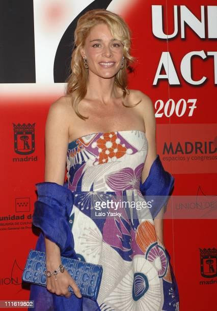 Actress Belen Rueda attends the XVII edition of Union de Actores Awards ceremony at the Palacio de Congresos on March 31 2008 in Madrid Spain