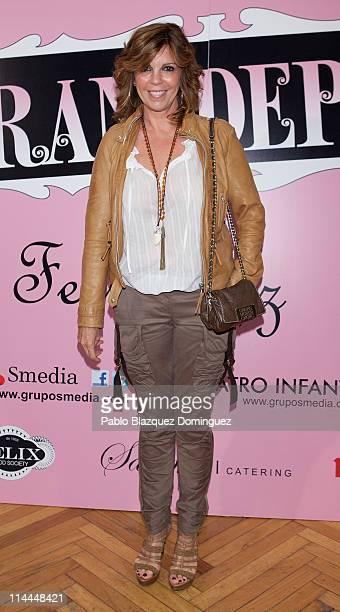 Actress Belinda Washington attends 'La Gran Depresion' premiere at Infanta Isabel Theatre on May 19 2011 in Madrid Spain
