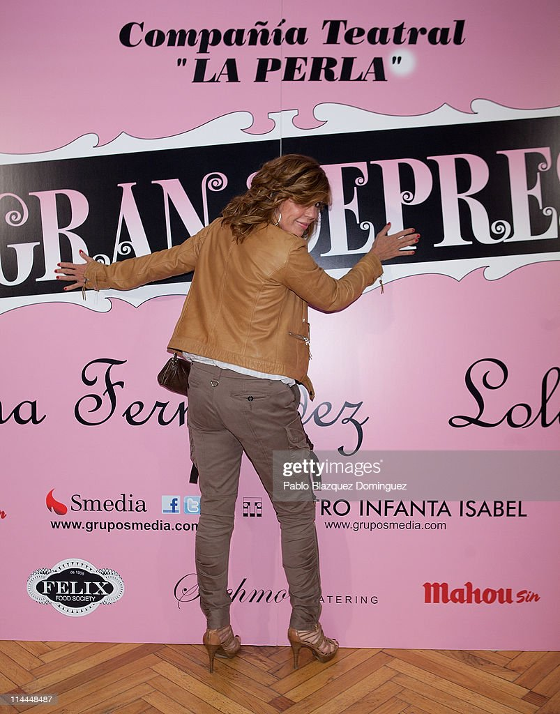 'La Gran Depresion' Premiere in Madrid : News Photo