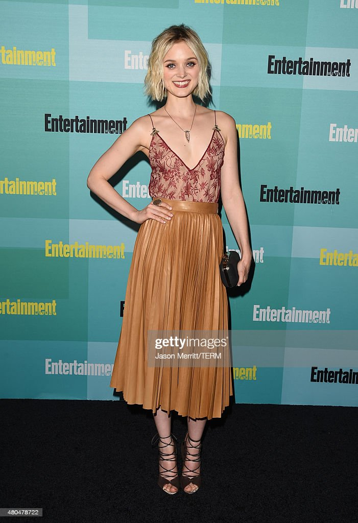 Actress Bella Heathcote attends Entertainment Weekly's Comic-Con 2015 Party sponsored by HBO, Honda, Bud Light Lime and Bud Light Ritas at FLOAT at The Hard Rock Hotel on July 11, 2015 in San Diego, California.