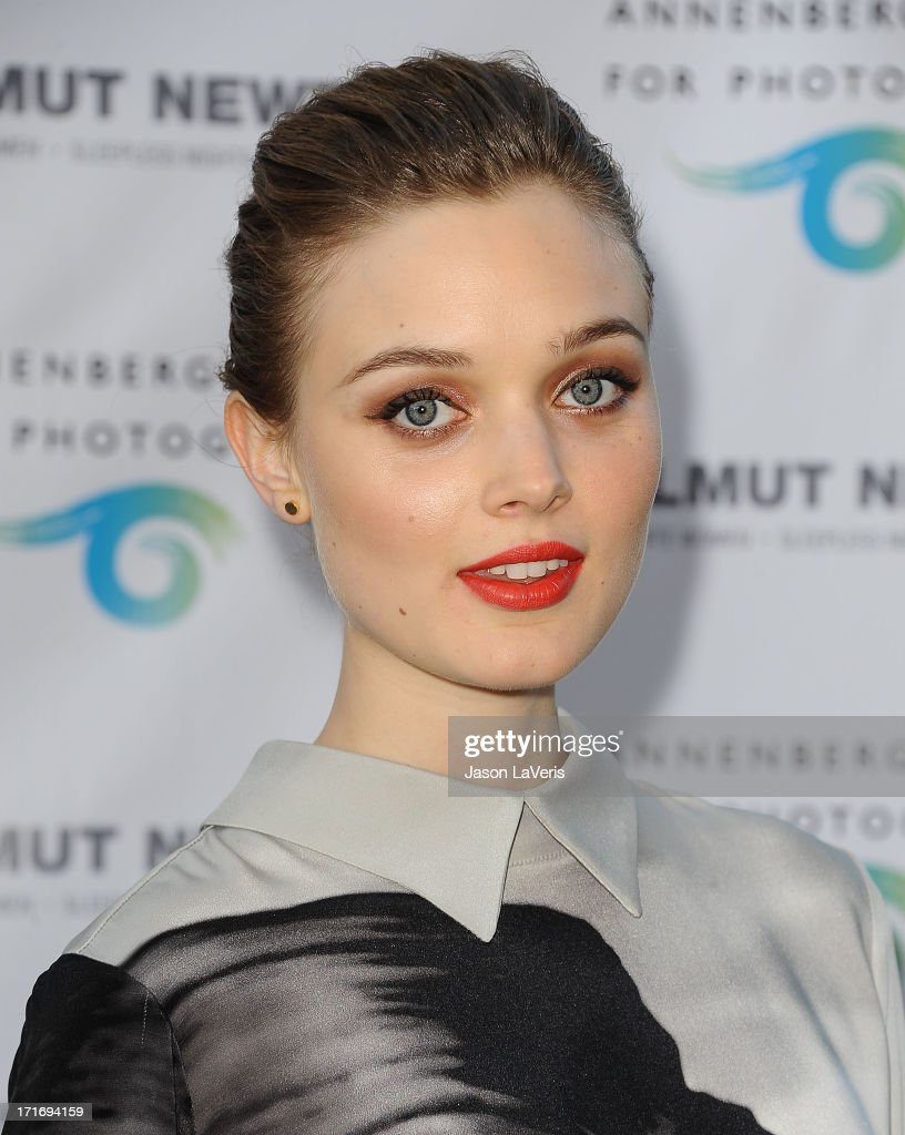 Actress Bella Heathcote attends the opening of 'Helmut Newton: White Women - Sleepless Nights - Big Nudes' at Annenberg Space For Photography on June 27, 2013 in Century City, California.
