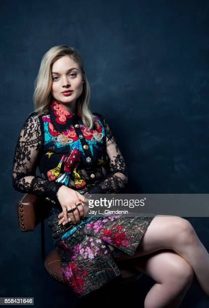 Actress Bella Heathcote from the film 'Professor Marston The Wonder Women' poses for a portrait at the 2017 Toronto International Film Festival for...