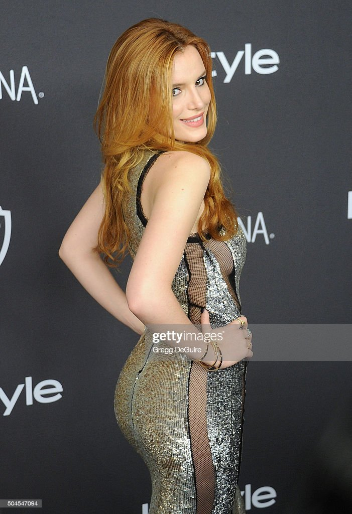Actress Bella Thorne arrives at the 2016 InStyle And Warner Bros. 73rd Annual Golden Globe Awards Post-Party at The Beverly Hilton Hotel on January 10, 2016 in Beverly Hills, California.