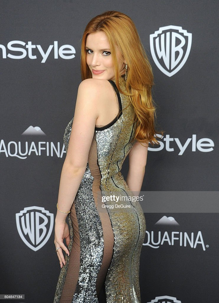 2016 InStyle And Warner Bros. 73rd Annual Golden Globe Awards Post-Party - Arrivals : News Photo