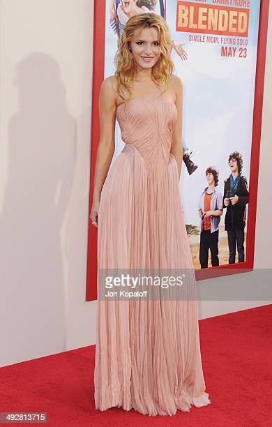 Actress Bella Thorne arrives at the Los Angeles Premiere 'Blended' at TCL Chinese Theatre on May 21 2014 in Hollywood California