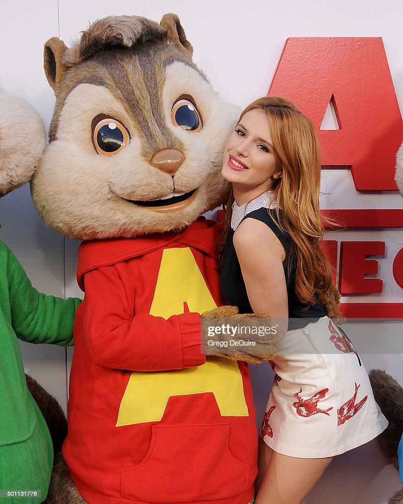 "Premiere Of 20th Century Fox's ""Alvin And The Chipmunks: The Road Chip"" - Arrivals : News Photo"
