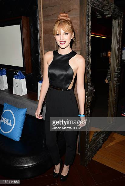 Actress Bella Thorne attends a private event at Hyde Lounge hosted by Dell for the Beyonce concert at The Staples Center on July 1 2013 in Los...
