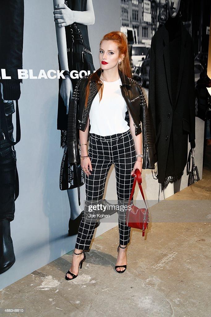 Diesel Black Gold - Front Row - Spring 2016 New York Fashion Week : News Photo