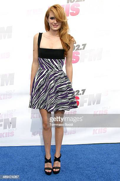 Actress Bella Thorne attends the 1027 KIIS FM's 2014 Wango Tango held at the StubHub Center on May 10 2014 in Los Angeles California